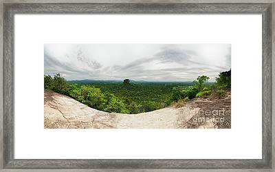 Sigiriya Panorama Framed Print by Venura Herath