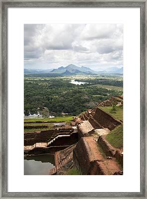 Sigiriya Ruins Framed Print by Jane Rix