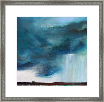 Sign From Above Framed Print by Toni Grote