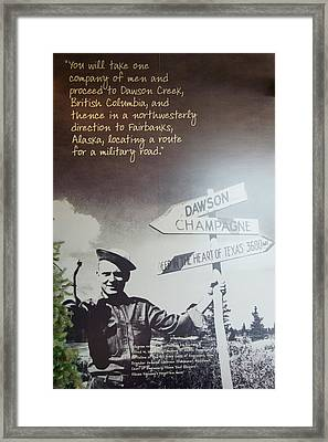 Sign Post Poster Framed Print by Robert Braley