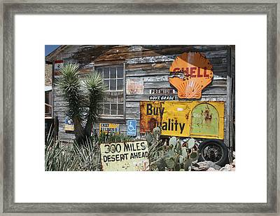 Sign Sign, Everywhere A Sign Framed Print