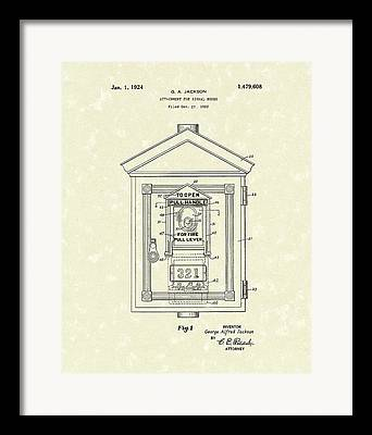Levers Drawings Framed Prints