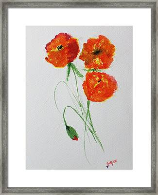 Signature Framed Print