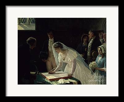 Pastor Framed Prints