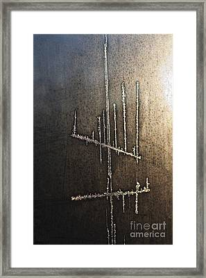 Signs-11 Framed Print