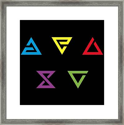 Signs Framed Print by Lobito Caulimon