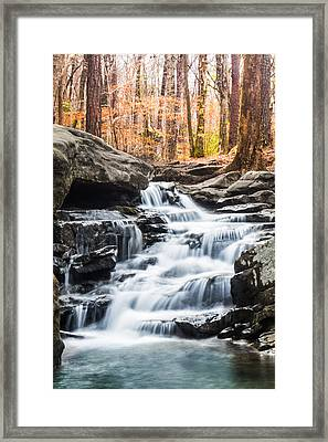 Autumn At Moss Rock Preserve Framed Print by Parker Cunningham