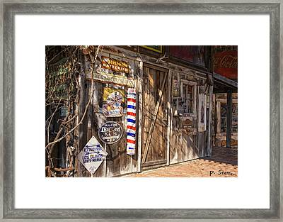 Signs Of The Past Framed Print by Patricia Stalter