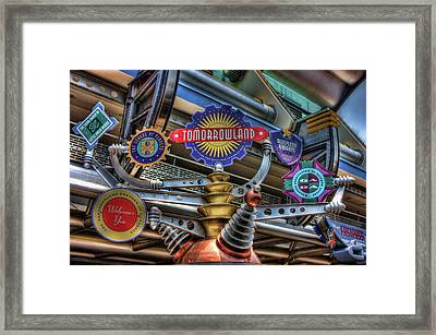 Signs Of Tomorrow Framed Print