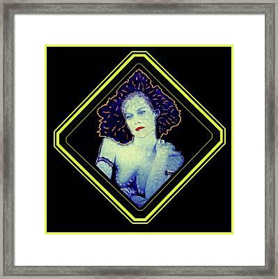 Sigourney Weaver  - Jones'd Framed Print by JOnezi