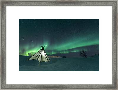 Sikka Framed Print by Tor-Ivar Naess