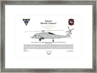 Sikorsky Mh-60r Seahawk Framed Print