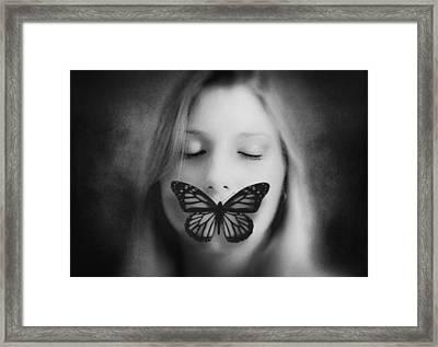 Silence ... Framed Print by Ben Goossens