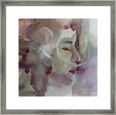 Wcp 1701 Silence Framed Print by Becky Kim