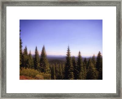 Silence In The Distance Framed Print
