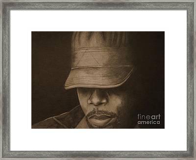 Silence Framed Print by Lorelle Gromus