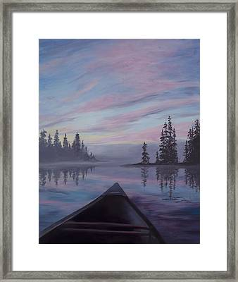 Silence  Framed Print by Mary Giacomini