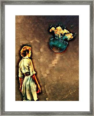 Silence Must Be Heard Framed Print