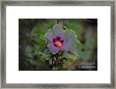 Silence Of Beauty Framed Print