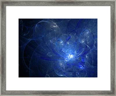 Silence Of The Universe Framed Print