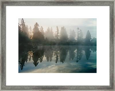 Silence Framed Print by Sergey and Svetlana Nassyrov