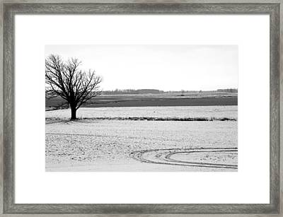Silence The Only Sound Framed Print by Off The Beaten Path Photography - Andrew Alexander