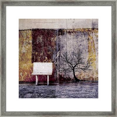 Silence To Chaos - 33b1 Framed Print by Variance Collections