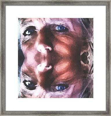 Framed Print featuring the digital art Silenced by Shelli Fitzpatrick