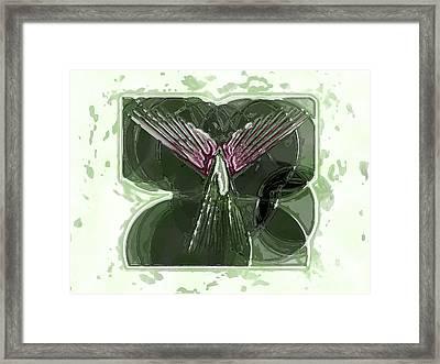 Silent Angel Framed Print by Patrick Guidato