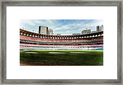 Silent Arches Framed Print