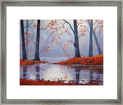 Silent Autumn Framed Print by Graham Gercken