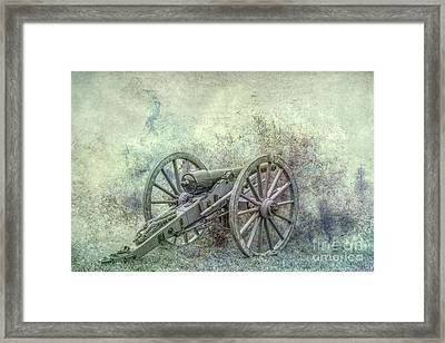Silent Cannon Field Of Fire Framed Print