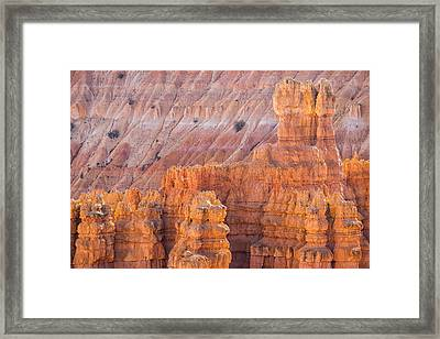 Framed Print featuring the photograph Silent City Glow by Patricia Davidson