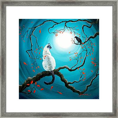 Silent Connection Framed Print