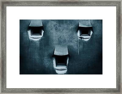 Silent Cry Framed Print by Fabien Bravin