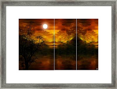 Silent Decadence Framed Print by Lourry Legarde