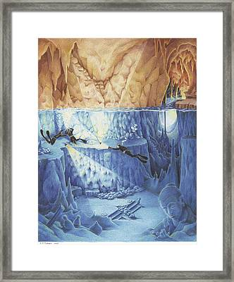 Silent Echoes Framed Print by Amy S Turner