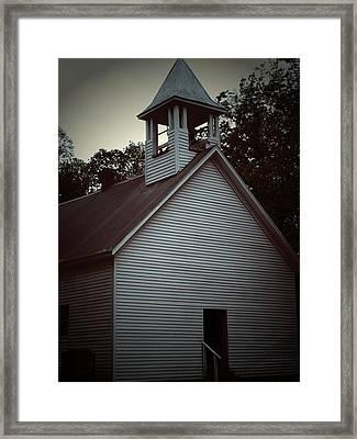 Silent Faith Framed Print by Jessica Burgett