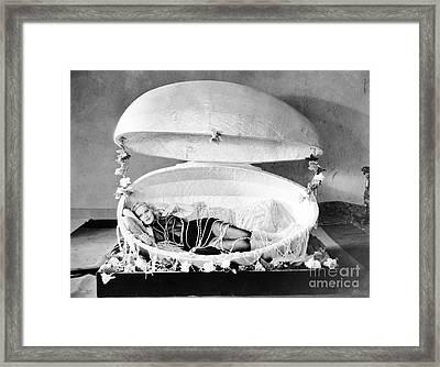 Silent Film Still, 1931 Framed Print