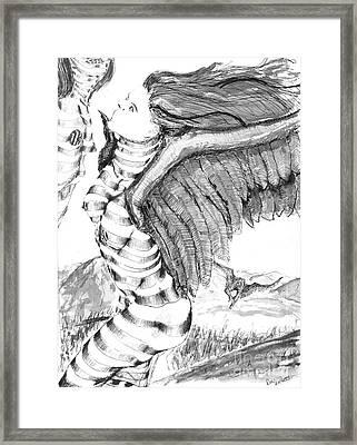 Silent Flight Framed Print