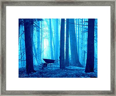 Framed Print featuring the photograph Silent Forest by Al Fritz
