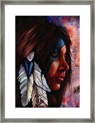 Silent Grace Framed Print