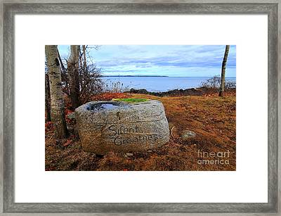 Silent Greatness  Framed Print by Catherine Reusch Daley