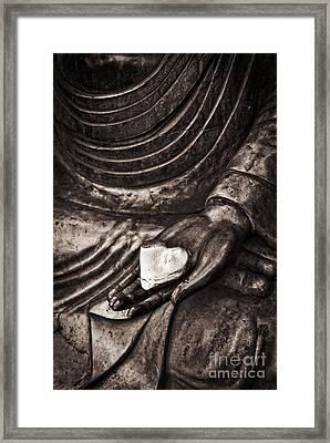Silent Heart Framed Print