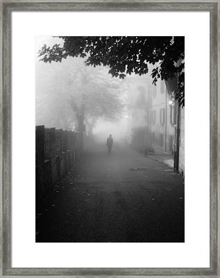 Silent Hill Framed Print