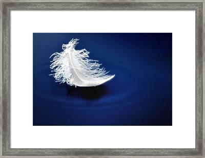 Silent Impact Framed Print by Mark Fuller