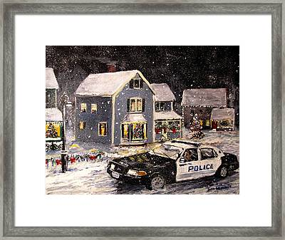 Silent Knight Framed Print by Jack Skinner
