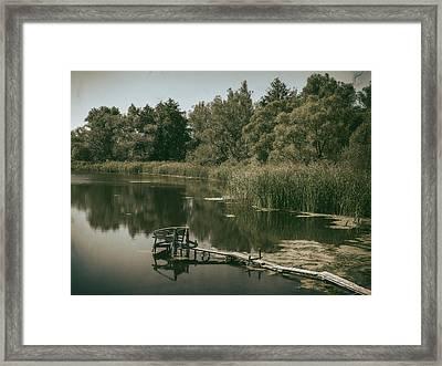 Silent Lake. Korop, 2016. Framed Print