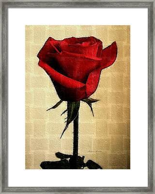 Silent Love Framed Print by Madeline  Allen - SmudgeArt