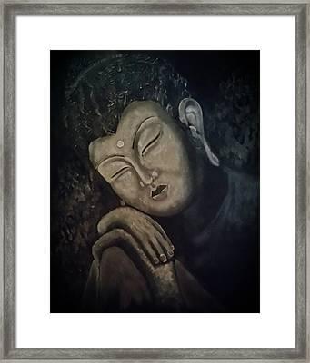 Silent Meditations Framed Print